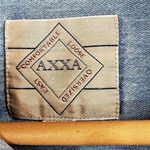 AXXA Shirts - AXXA BLUE DENIM 100% COTTON OVERSIZED SHIRT 17